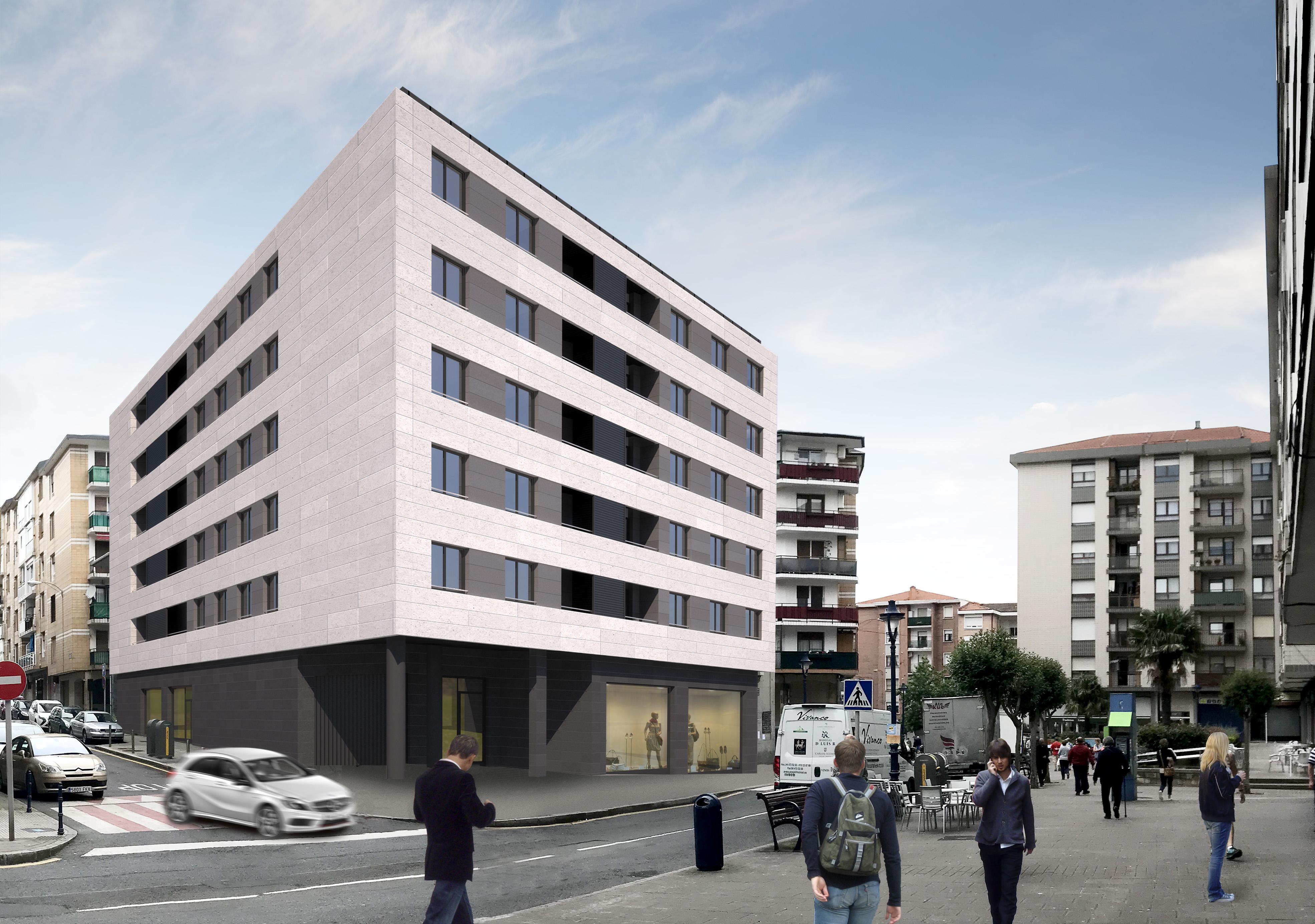 Nuevo residencial Áurea Repélega sostenible con calificación energética A