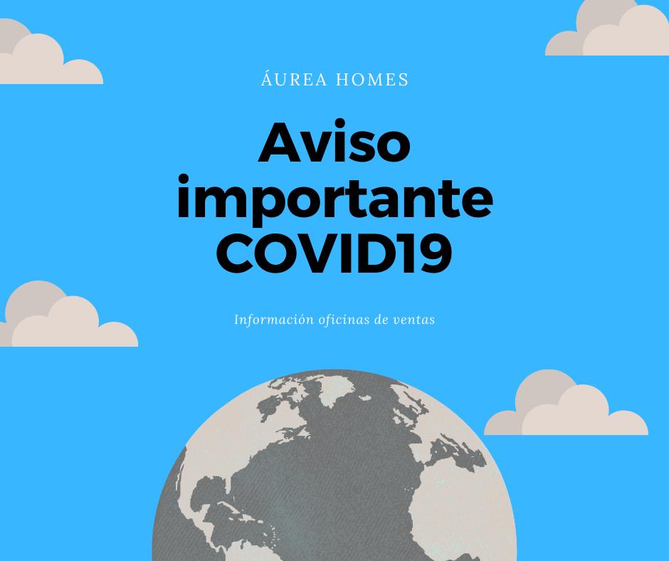 Aviso importante COVID19