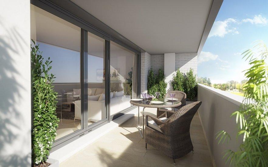 Áticos, terrazas y jardines