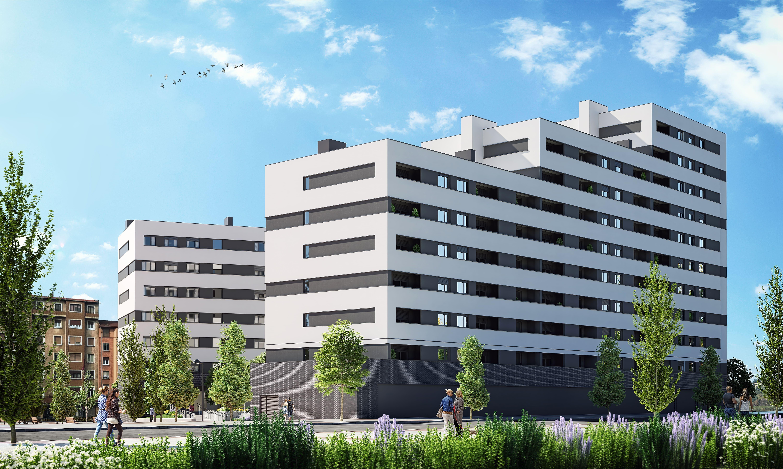 Comienzan las obras del residencial Áurea Lutxana